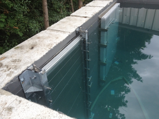 Flood Barrier Testing And More Flood Barrier Testing